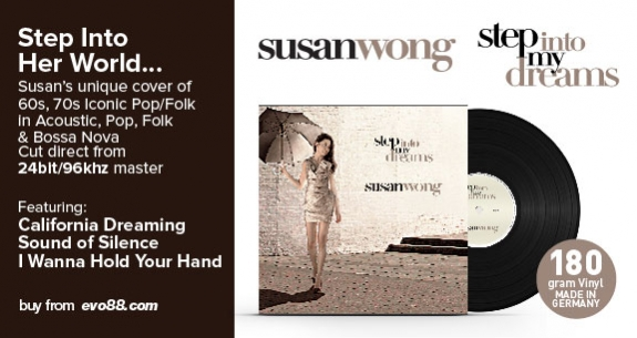 Susan Wong - Step Into My Dreams (2LP)