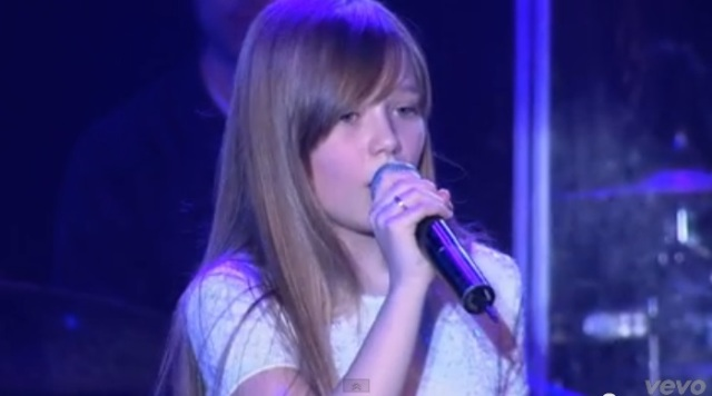 小康妮 Connie Talbot - Color Of The Wind 风的颜色 (LIVE)