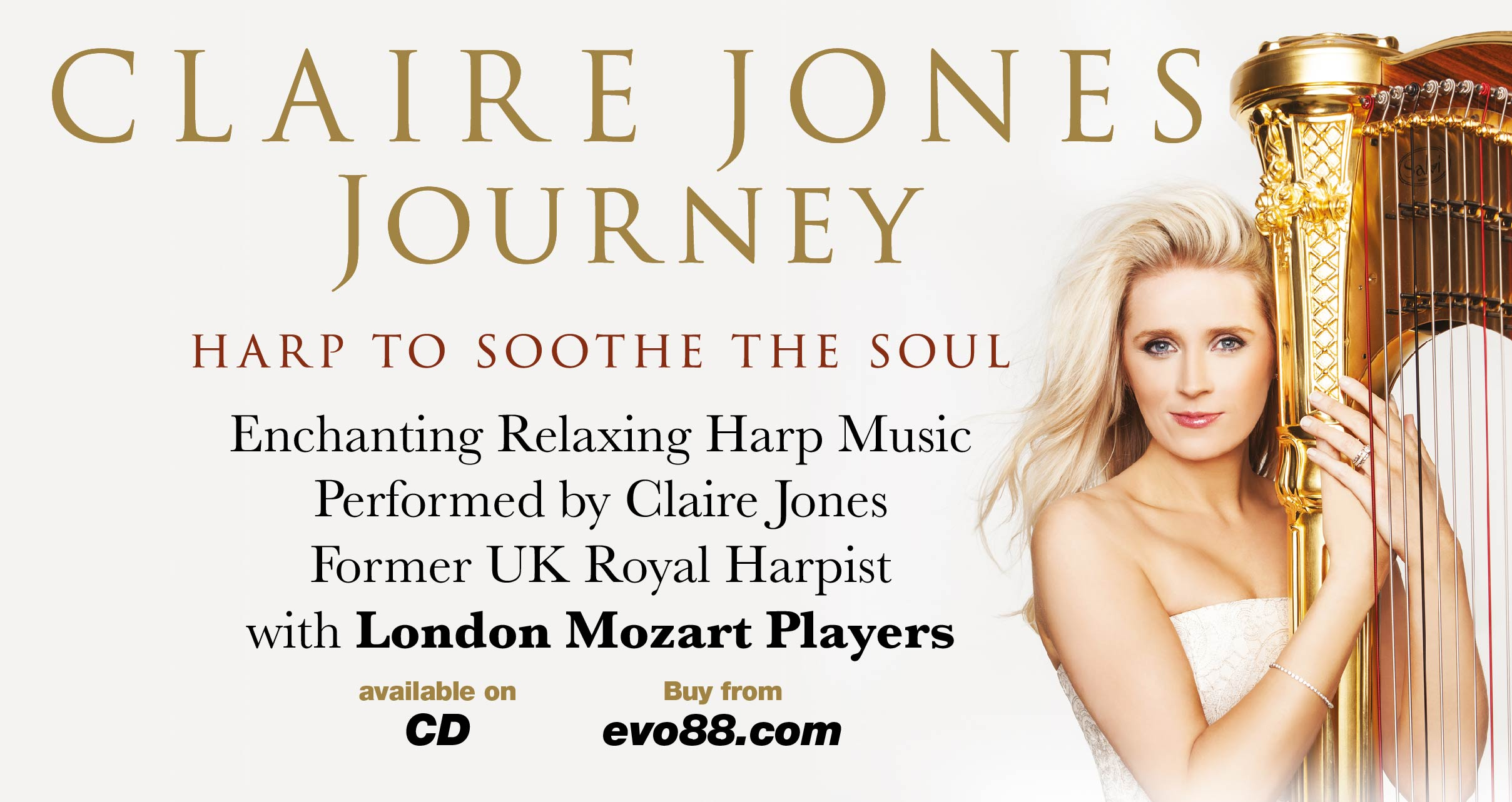 Claire Jones - Journey (CD)